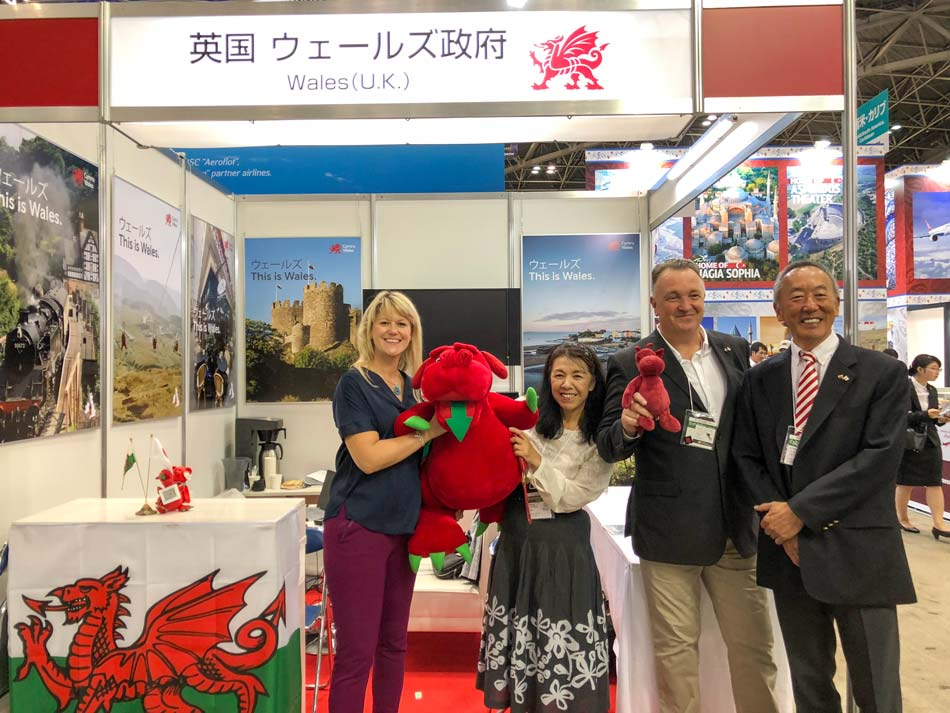 Wales Tourism Expo Connect with Japan